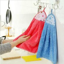 Cute Animal Microfiber Kids Children Cartoon Absorbent Hand Dry Towel Lovely Towel For Kitchen Bathroom Use Free Shipping