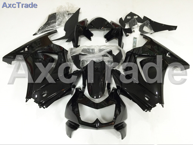 Motorcycle Fairings For Kawasaki Ninja 250 ZX250 EX250 2008-2012 08 - 12 ABS Plastic Injection Fairing Bodywork Kit Black A655 motorcycle fairing kit for kawasaki ninja zx10r 2006 2007 zx10r 06 07 zx 10r 06 07 west white black fairings set 7 gifts kd01