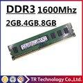 Оригинал 2 ГБ 4 ГБ 8 ГБ ddr3 1600 pc3-12800 dimm оперативной памяти настольного Компьютера, оперативной памяти ddr3 4 ГБ 1600 мГц pc3 12800 ddr3 memoria 8 ГБ 1600