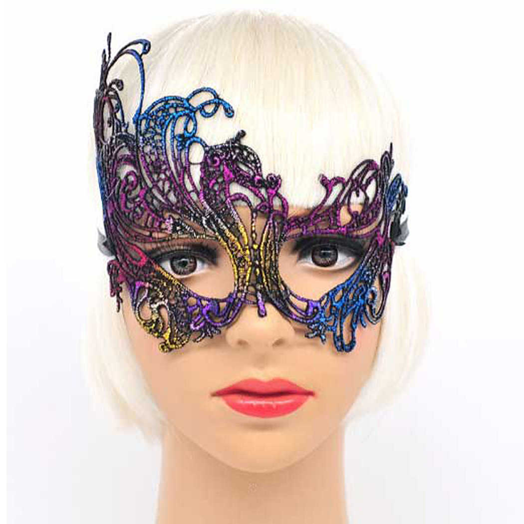 Golden Party Mask Glittering Sexy Party Eye Mask Masquerade Mask For Mardi Gras Party Costume Party Decor