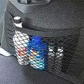 Confiável Novo Assento de Carro Auto Traseira Tronco Traseiro Corda Elástica Rede de Malha Saco de Armazenamento De Bolso Gaiolas Ap12 dropshipping