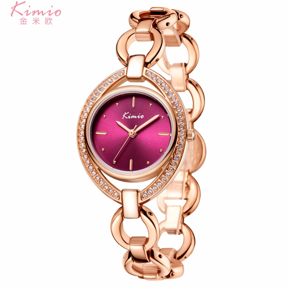 Kimio brand luxury watch Stainless Steel mesh clock Quartz Simple Casual Reloje Female Rhinestone oval WristWatch montre femmeKimio brand luxury watch Stainless Steel mesh clock Quartz Simple Casual Reloje Female Rhinestone oval WristWatch montre femme
