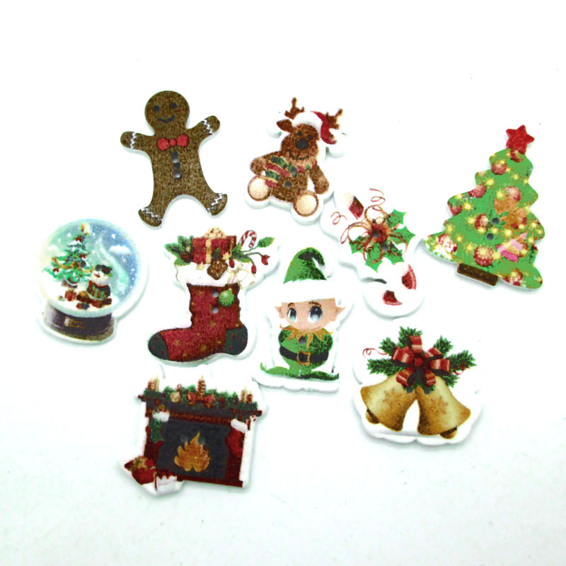 Aliexpress Com Buy Home Utility Gift Birthday Gift Girlfriend Gifts Diy From Reliable Gift Diy: Aliexpress.com : Buy 50pcs Mixed Christmas Buttons For