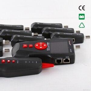 Image 3 - Oryginalny Noyafa NF 8601W Tester kabla sieciowego LAN LCD telefon wykrywacz kabli telefonicznych do testowania linii PING / POE BNC RJ45 RJ11