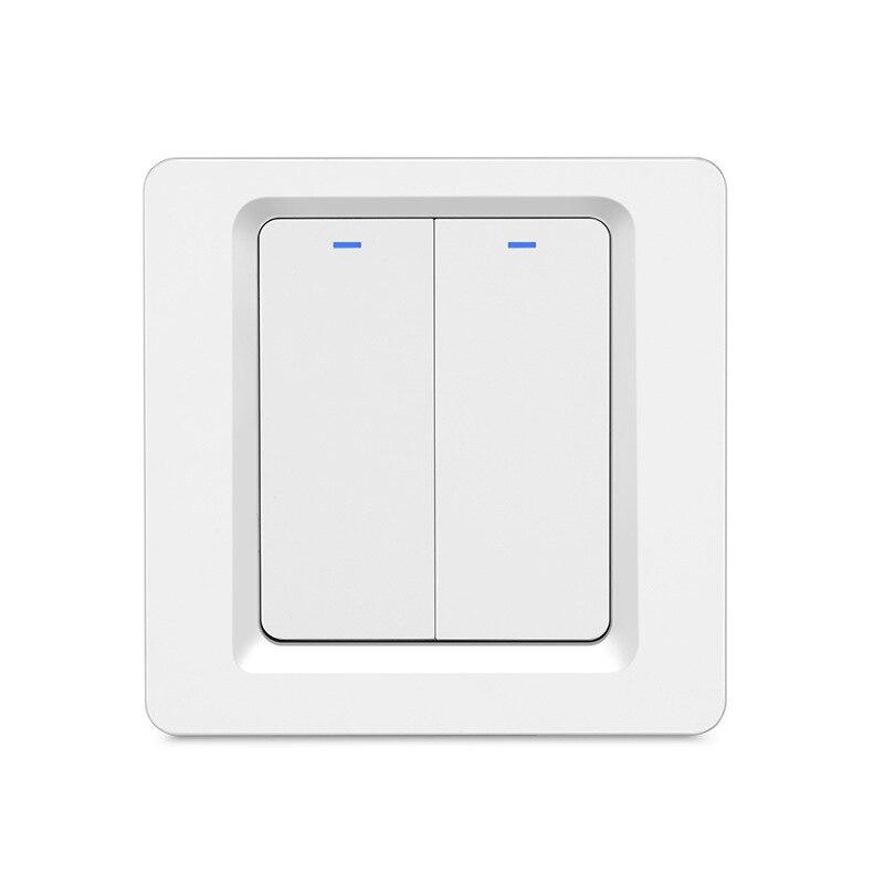 Hot Sale] Tuya Smart life app Control WiFi Light 86 EU Button Switch
