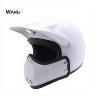 Motocross Motorcycle Helmet Male Personality Vintage Capacity Capacete De Moto Motociclista Casco Para Moto Kask Helmets
