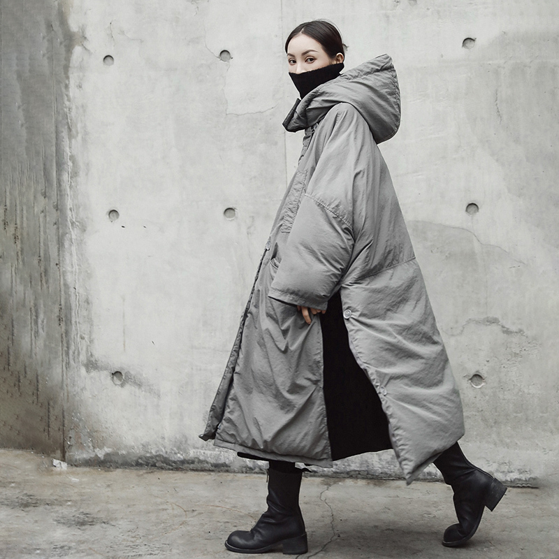 2019 Женское зимнее теплое пальто с капюшоном уличная Sustans армейская зеленая верхняя одежда Длинные парки - 5
