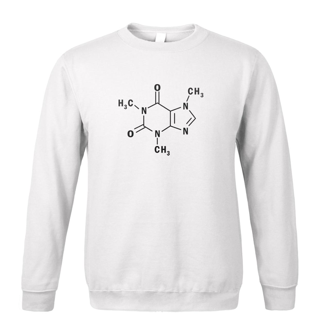 Adult Student The Big Bang Theory Sheldon Chemical molecular structure 2019 new men sweatshirt spring winter fashion men hoodie