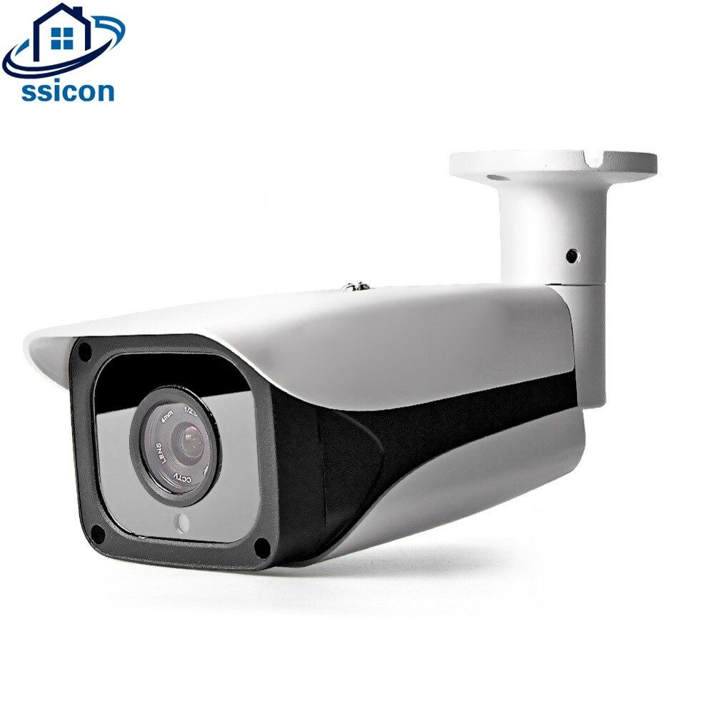 SSICON 5MP balle AHD caméra 3.6mm lentille IR Distance 20 M SONY326 capteur étanche sécurité extérieure CCTV caméra