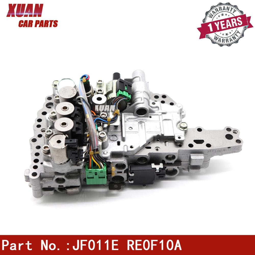 GENUINE JF011E RE0F10A F1CJA Valve Body Solenoids for Nissan Altima Sentra Dodge