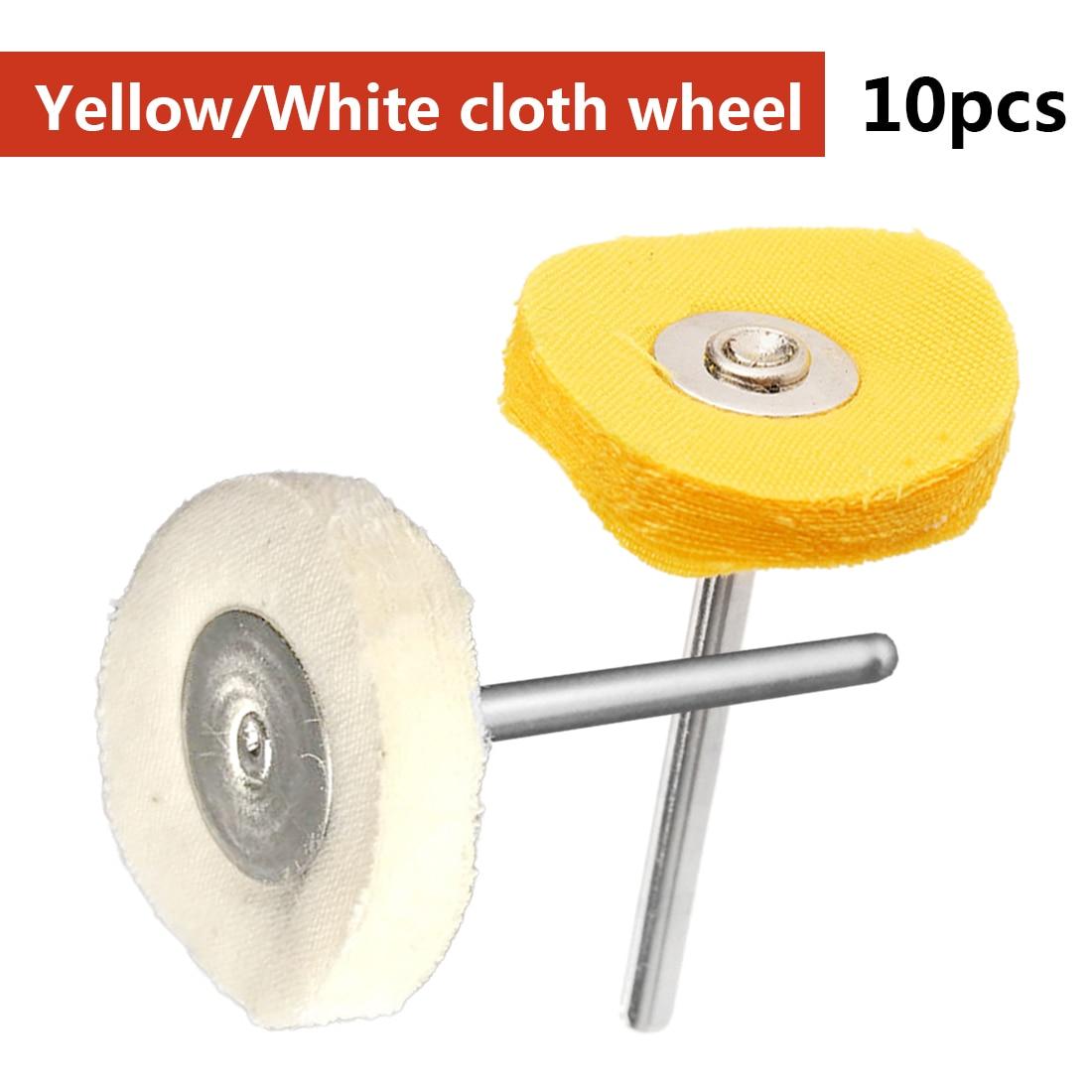 Brush Set 10pcs/set Polishing Wheel Buffing Pad for Jewelry Jade Hardware Dremel Accessories for Power Rotary Tools