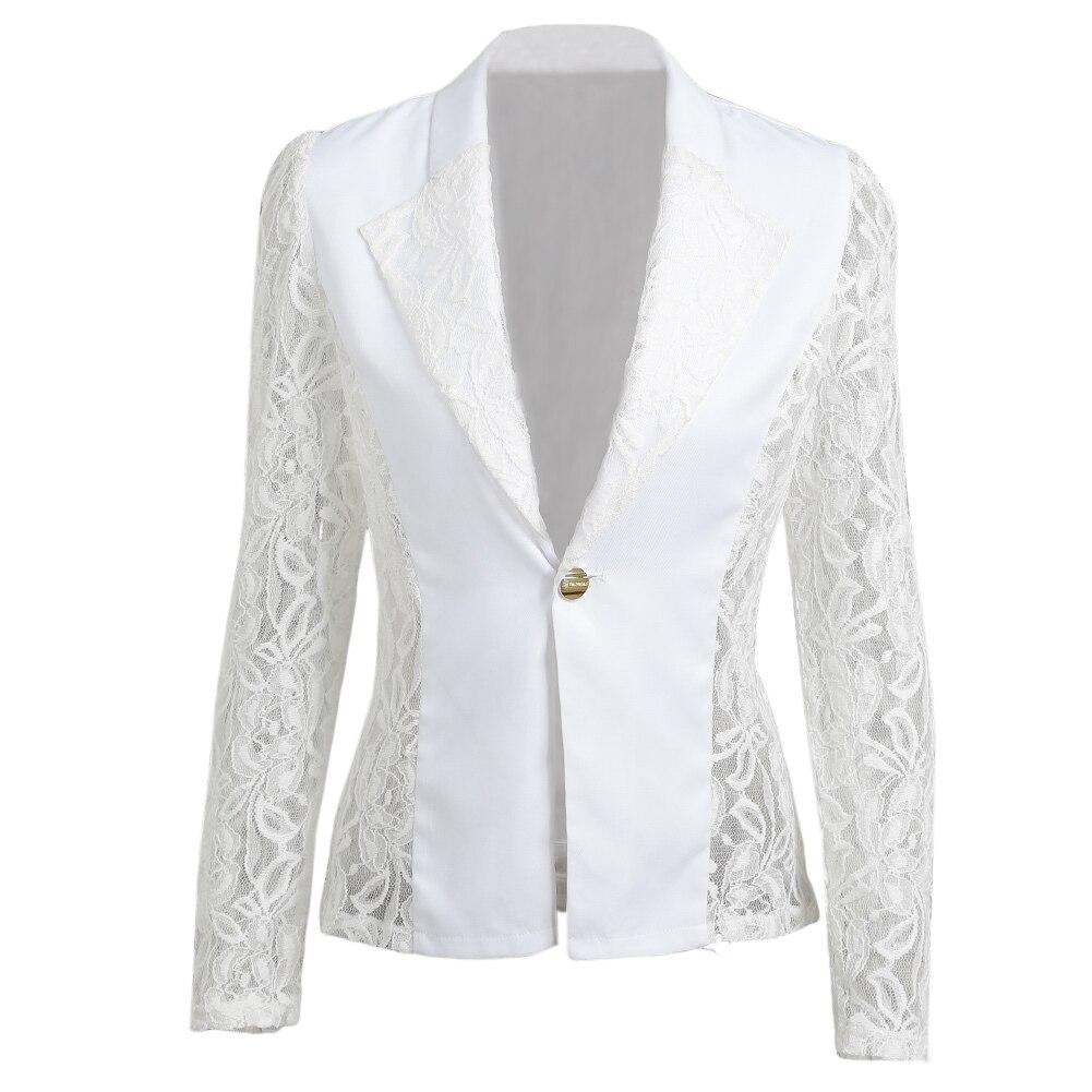 Veste en dentelle grande taille noir ou blanche.blanc