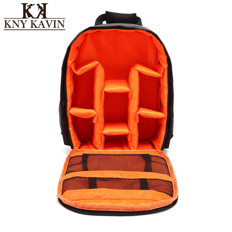 KNY KAVIN Camera Backpack Video Digital DSLR Bag Waterproof Multi-functional Travel Camera Photo Bag Case for Nikon/Canon/DSLR waterproof digital dslr camera bag multifunctional photo camera backpack small slr video bag for the camera nikon canon