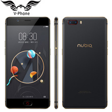 2017 Original Nubia M2 M2 4G LTE Mobile Phone 4GB RAM 64GB ROM Octa Core 5.5inch 16MP Dual 13MP Android N 3000mAh SmartPhone