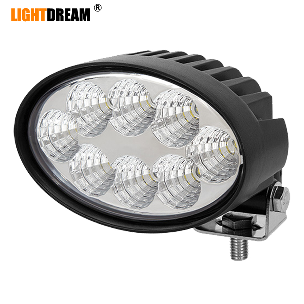 Oval <font><b>Led</b></font> Work <font><b>Lights</b></font> 5.5
