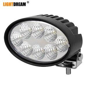 Oval Led Work Lights 5.5