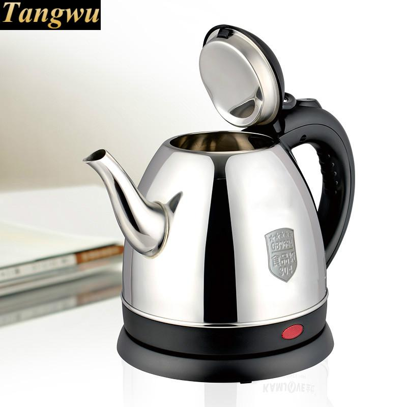 Zhengpin electric kettle stainless steel teapot kongfu tea set boiling water Overheat Protection automatic kettle electric brewing tea stainless steel teapot