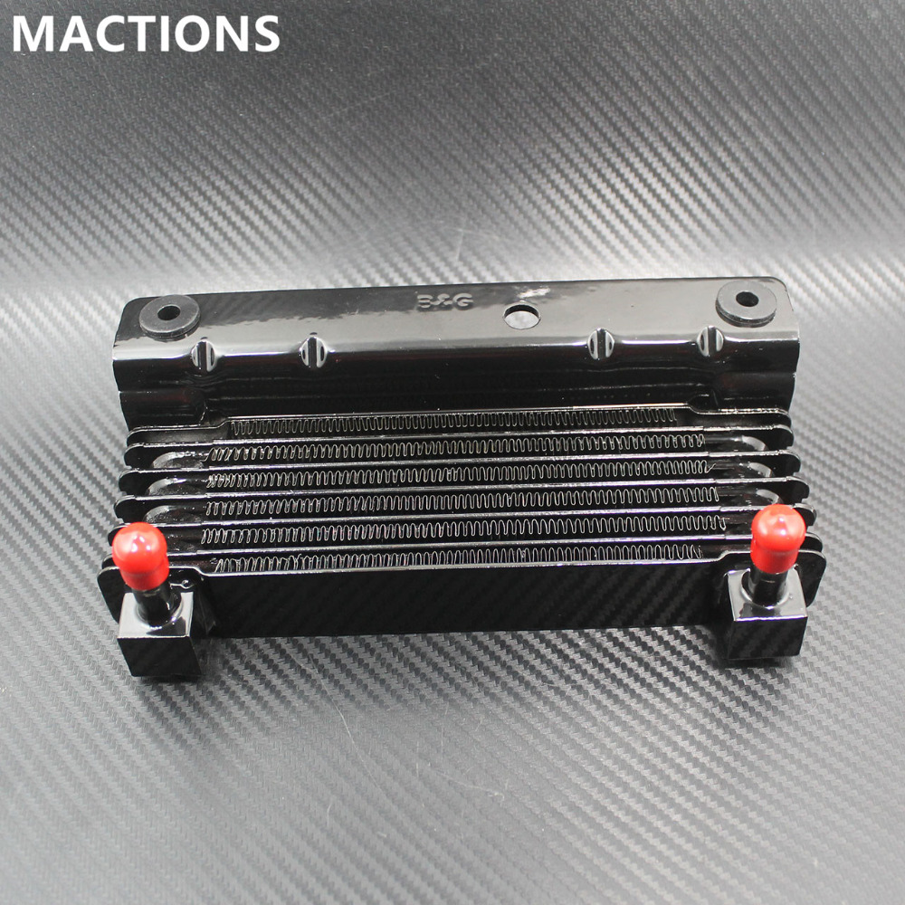 Motorcycle Oil Cooler Adapter For Harley Touring Street Glide Road Glide Cooling Device Radiator Water Tank