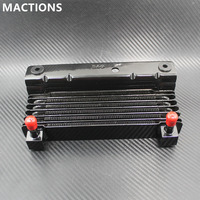 Motorcycle Oil Cooler Adapter For Harley Touring Street Glide Road Glide Cooling Device Radiator Water Tank For Harley Road King