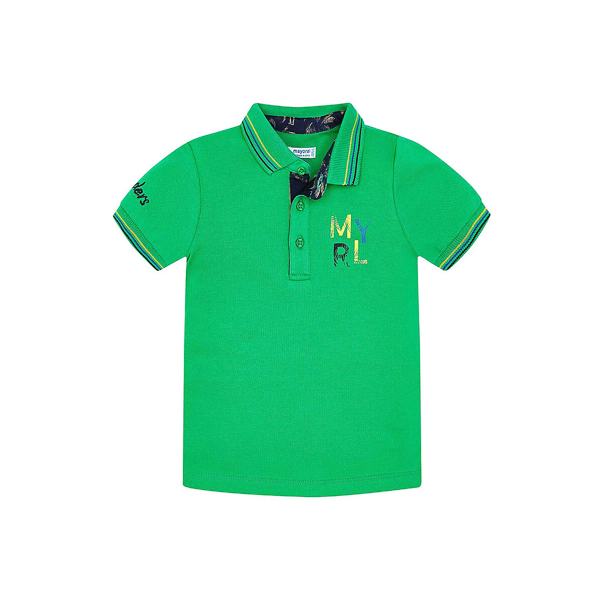 Фото - T-Shirts MAYORAL 10681286 Children sClothing T-shirt with short sleeves polo shirt for boys and girls simple design boat neck long sleeves skinny t shirt for women