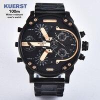 Несколько часовых поясов Мужские Аналоговые Кварцевые 2019 мужской часы человек часы лучший бренд класса люкс повседневное наручные