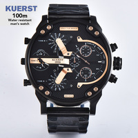 Multiple Time Zone Mens Analog Quartz 2019 male Watch Man Watches Top Brand Luxury Casual Wristwatch relogio masculino