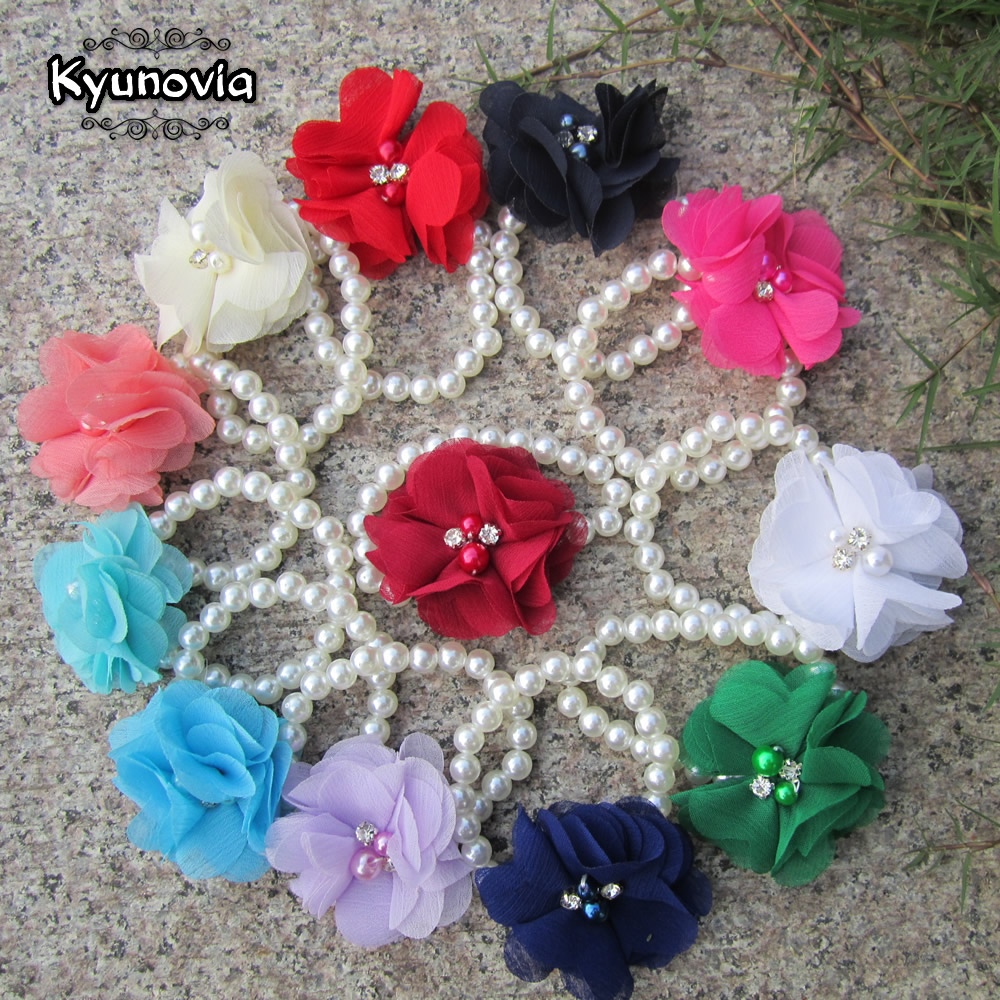 Kyunovia Custom Wrist Corsage Bridesmaid Hand Flowers Bride Flowers For Wedding Dancing Party Decor  Prom Wrist Band Satin Z06