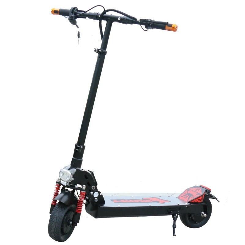 Scooter électrique de Longboard de Scooter électrique puissant de 350 W Mini Scooter électrique adulte Scooter électrique pliable de dérive Scooter léger