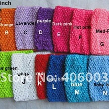 Wholesale  6*6inch Baby Crochet Tube Top Kids Toddler Elastic Tops Fancy Clothes