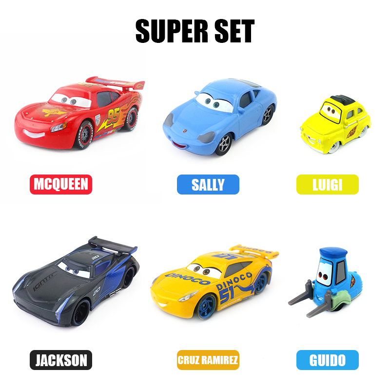 Mt Cars Basic Character Lightning Mcqueen Diecast Toy Car 1 55