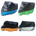 Universal Motorcycle Bike Moped Scooter Cover XL Breathable Waterproof Outdoor Rain Dust Protector UV Protective 190T