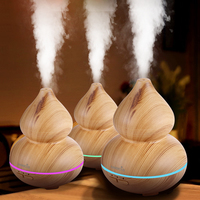 EASEHOLD 150ml Air Humidifier Essential Oil Diffuser Aroma Lamp Aromatherapy Electric Aroma Diffuser Mist Maker For