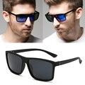 RBUDDY 2019 gafas de sol para hombres, gafas de sol cuadradas de diseño de marca UV400 protección tonos gafas de sol hombre gafas conductor