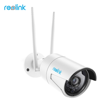 Reolink Surveillance Outdoor Camera WiFi 4MP 2.4G/5G HD IP Cam SD Card Storage Wireless Weatherproof Security Cam RLC-410WS(China)