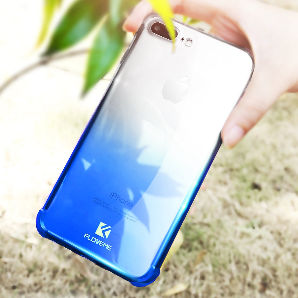 FLOVEME New Original Case For iPhone 6 6s Plus Shockproof Back Cover For iPhone 8 7 6 6s Plus 360 Full Coverage protective Coque in Fitted Cases from Cellphones Telecommunications