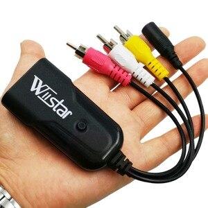 Image 5 - HDMI to 3RCA Composite AV/CVBS Video Audio Converter HDMI2AV Adapter Support NTSC/PAL for VCR PS4 Camera DVD