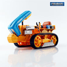 2017 New Kaidiwei KDW Die-cast Alloy Engineering Car Models Gift for Children 1:18 Caterpillar tractor in box(China)