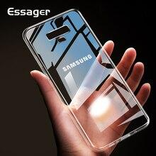 Essager Yumuşak Silikon Samsung kılıfı Not 9 S9 S8 Artı Coque Şeffaf TPU arka kapak Için Samsung Galaxy S9 Artı Çapa Fundas