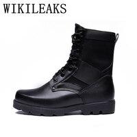 Célèbre marque militaire tactique bottes femmes désert bottes en cuir bottes de sécurité chaussures fans de L'armée en plein air escalade chaussures femmes