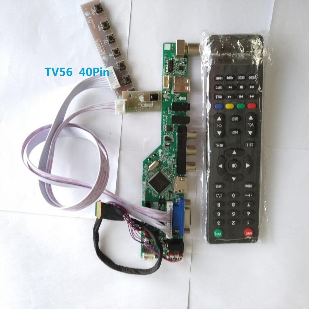 """HDMI Remote LCD Controller Driver Board For 15.6/"""" LP156WF4-SLB1 1920x1080 Screen"""