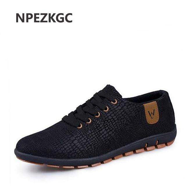 NPEZKGC Spring Summer Canvas Men Shoes Breathable Male Casual Fashion Light  Low Lace Up Shoes Flats Plus Size 45 43732f1ac53