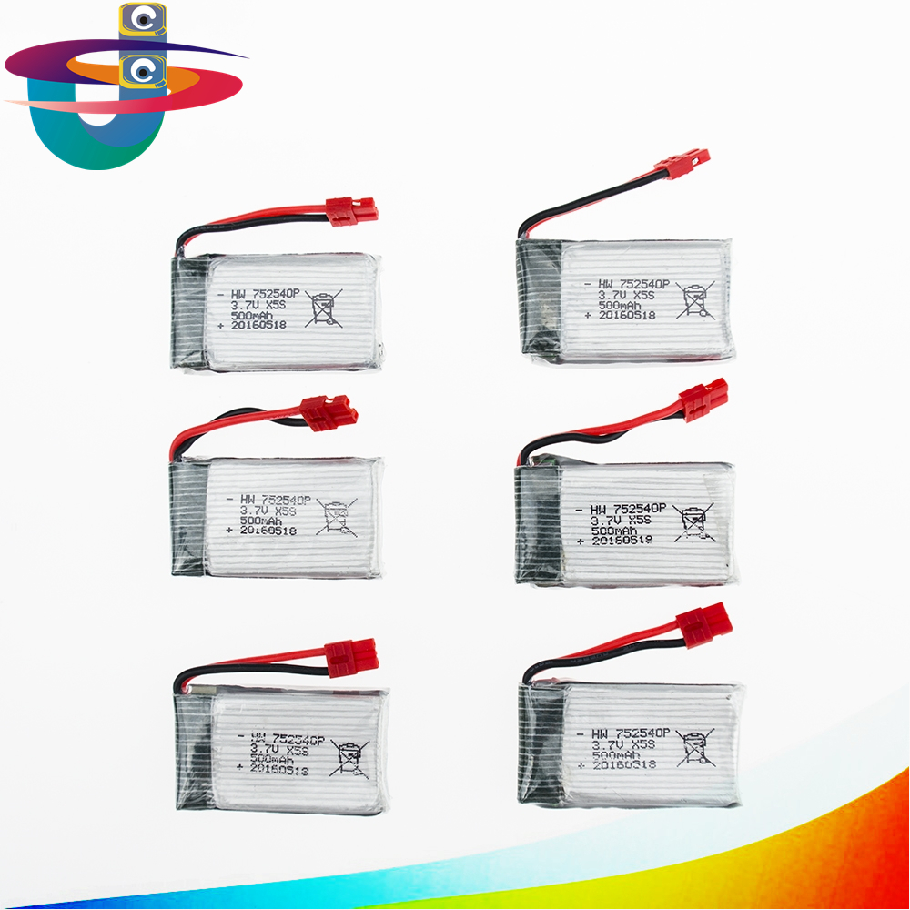 Syma 3.7V 500mAh Battery for X5S X5SW X5HW X5HC X5UW RC Quadcopter Drone Spare Part free shipping 4pcs 500mah lipo 4 in 1 usb charger set for syma x5hc x5hw quadcopter remote control drone model spare part replacement set