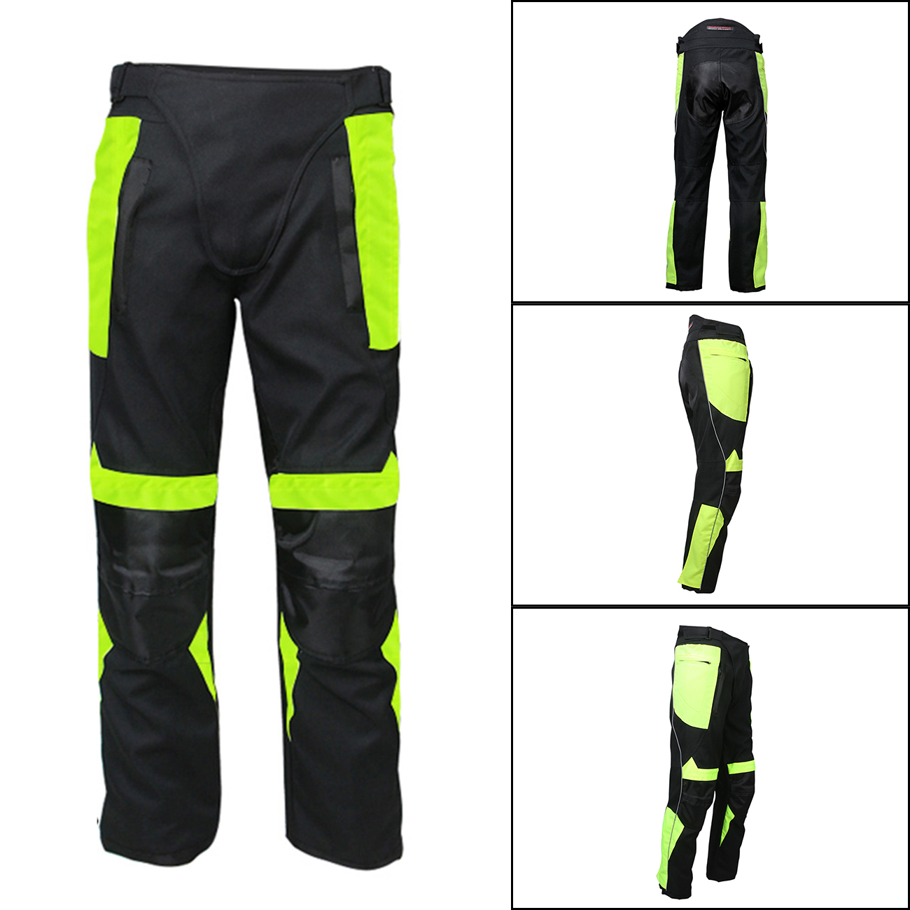 Plus Size Men's Windproof MOTO Pants Reflective Motorcycle Mountain Cycling Bike Trousers Long Pants Outdoor Clothing #MD238 mens work clothing reflective coveralls windproof road safety maritime clothing protective clothes uniform workwear plus size