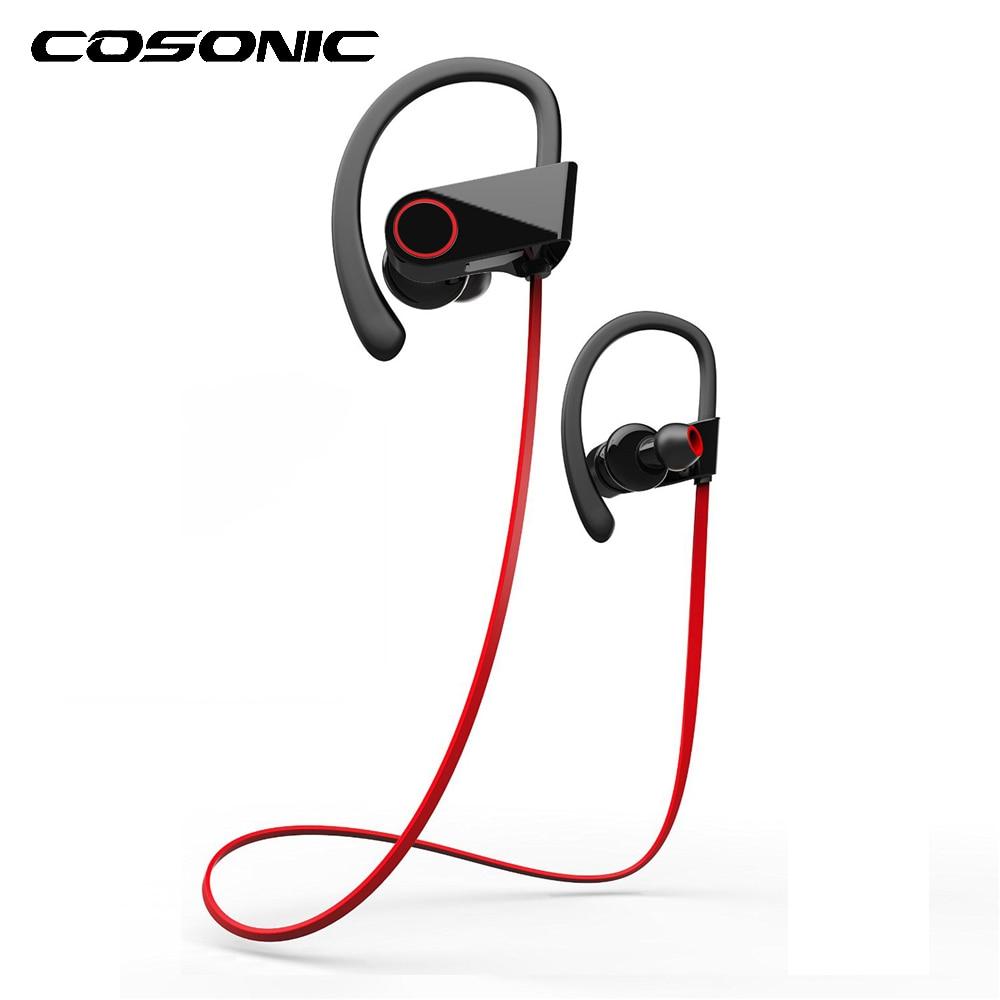 U8 Bluetooth 4.1 Sport Running Sweatproof Earphone Stereo Bas