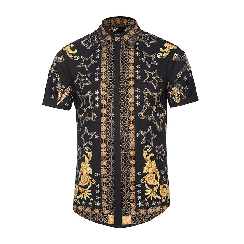 Online Buy Wholesale gold mens shirt from China gold mens shirt ...