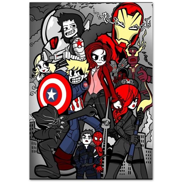 B749 Hot Cartoon Comic Funny Movie Scott Pilgrim Marvel