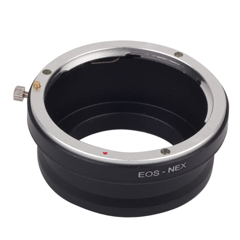 Haute Précision Numérique Bague D'adaptation D'objectif Camera Lens Adapter Ring Accessoreis Pour Sony NEX3 NEX5 EF Caméra EOS-NEX