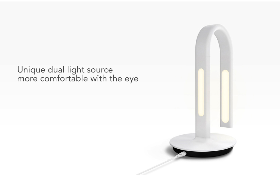 Original Xiaomi Mijia Lamp 2 Xiao Mi Eyecare App Control Dual Light Source Smart Desk Lamp Xiomi Mi Home Mi Store - White (8)