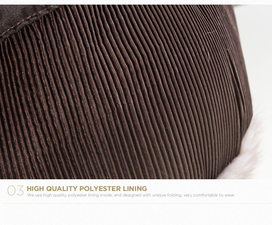 mink fur hat female winter PCM027 (8)