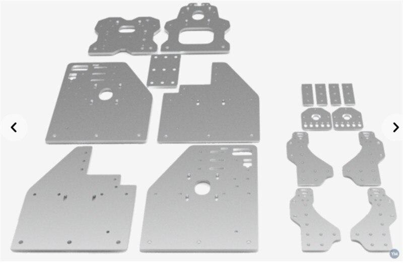 Openbuilds маршрутизатор OX CNC деталей машин аксессуар FL3D OX CNC плиты влево/вправо комплект/Набор «сделай сам» для 3D принтеры запчасти